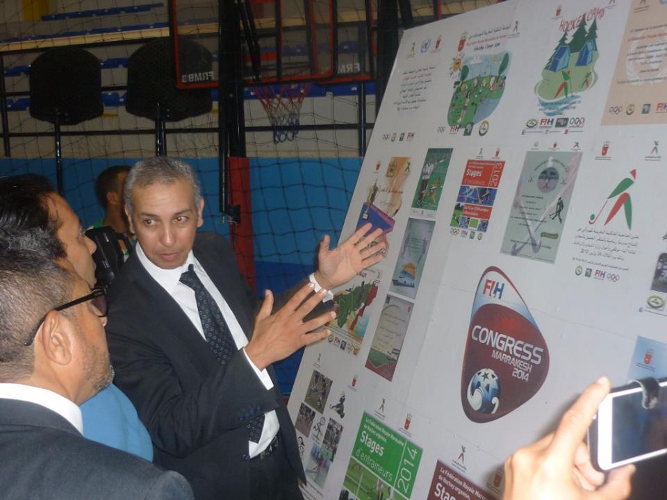 نادي امل تيزنيت للهوكي يتوصل بمعدات من جامعة الهوكي