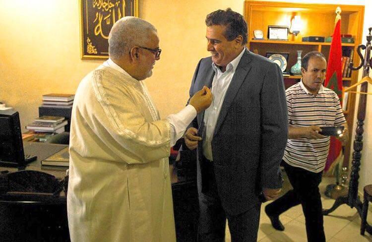 عبد الاله بنكيران يستقبل اخنوش للتشاور حول تشكيل تحالف