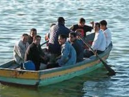 """محاولة فاشلة للهجرة السرية """"الحريك"""" قرب شاطئ سيدي محمد بن عبد الله بميراللفت"""