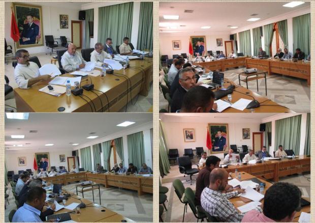 المديرية الإقليمية بتيزنيت تقدم عرضها حول قطاع التربية والتكوين بالإقليم أمام لجنة بالمجلس الإقليمي