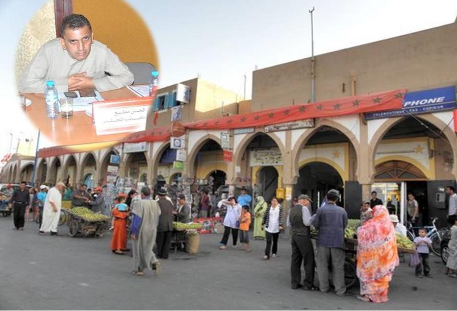 الحسن مطيع: حالة بعض شوارع و طرقات مدينة تيزنيت كارثية بسبب الباعة الجائلين