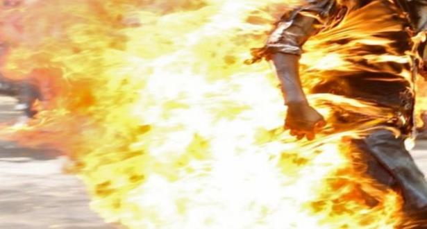 مدير المعهد المتخصص للسينما والسمعي البصري يضرم النار في نفسه