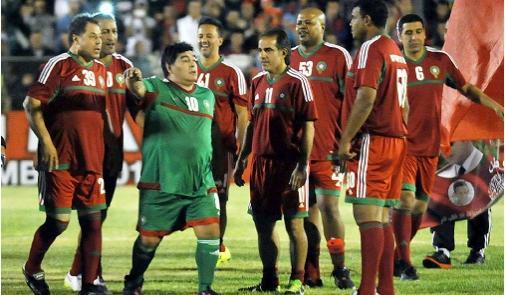 """مارادونا : قد أدرّب فِي المغرب .. واستضافة المملكة """"المونديَال"""" صعبة"""