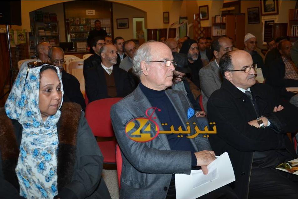 بالفيديو : لقاء معنينو بخزانة محمد المختار السوسي