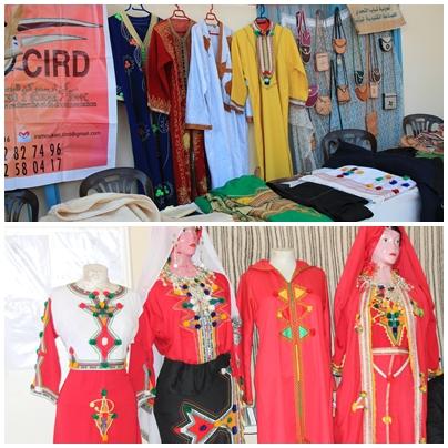 اللباس الأمازيغي والصناعة الجلدية ضمن اهتمامات فعاليات ملتقى أملال للشباب المبدع النسخة الثالثة