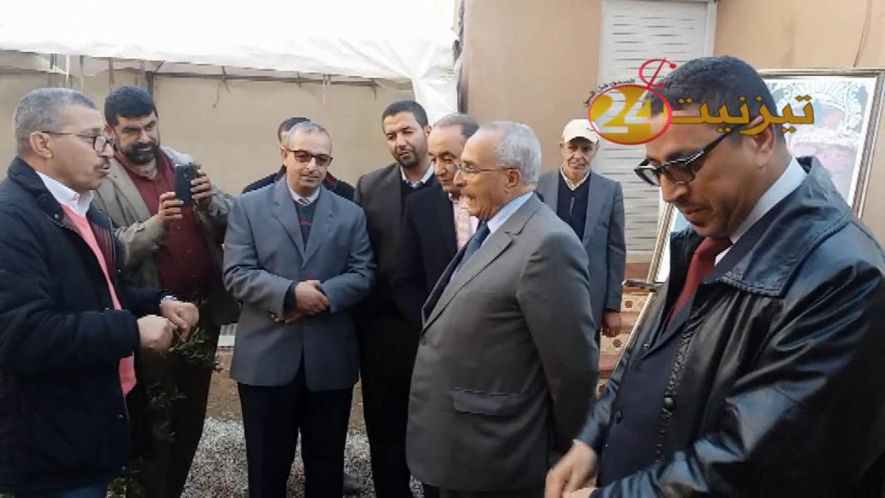 قدماء المقاومة وجيش التحرير بتيزنيت يكرمون المعلم الناجم لبيض