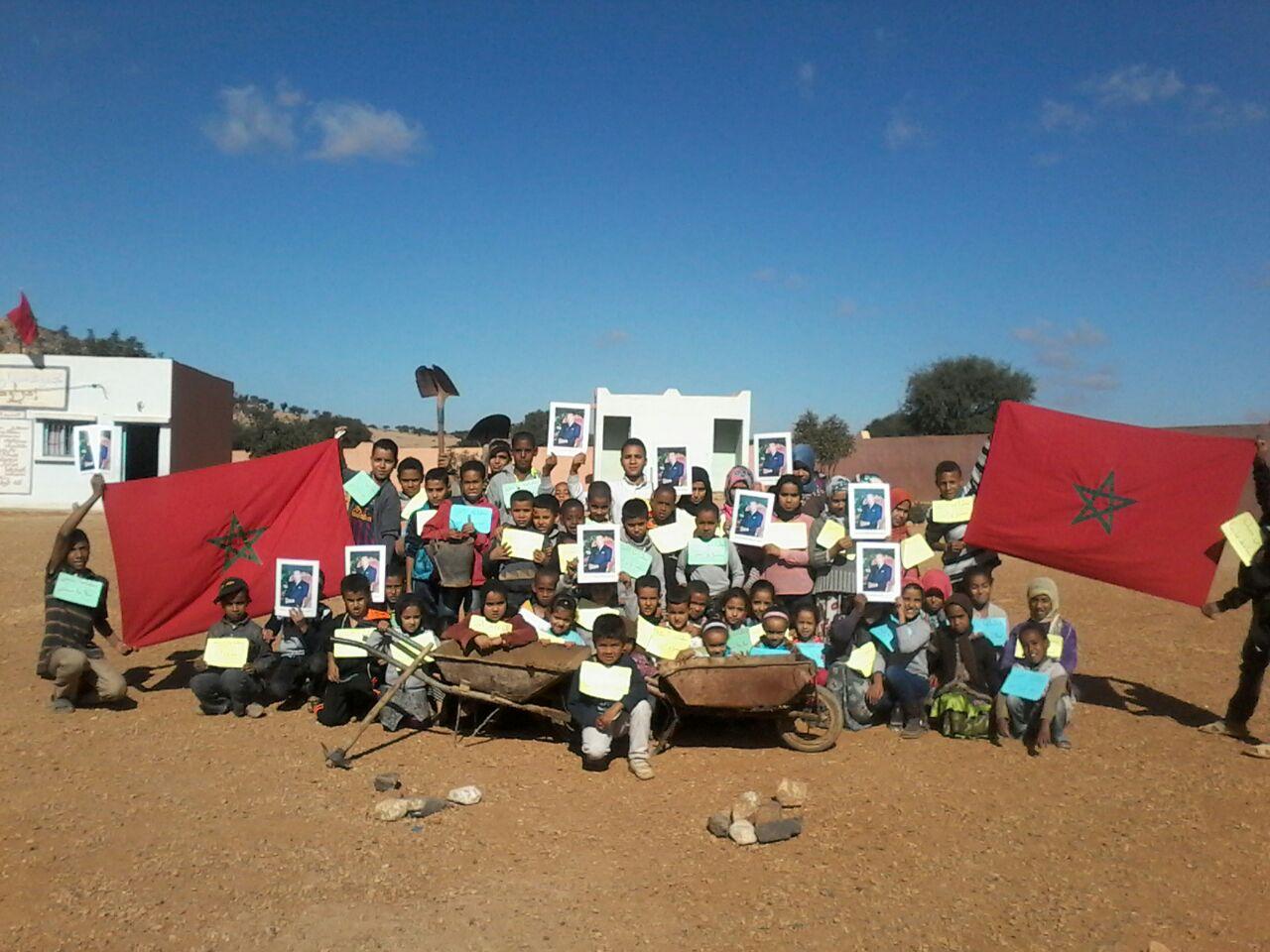 م/م الناشئة – مديرية اقليم سيدي افني-تنظم أياما  بيئية