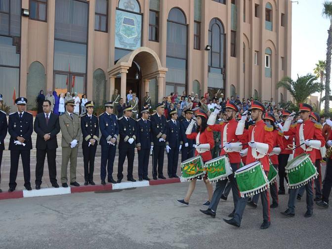 فيديو تحية العلم بتيزنيت بمناسبة عيد الاستقلال المجيد