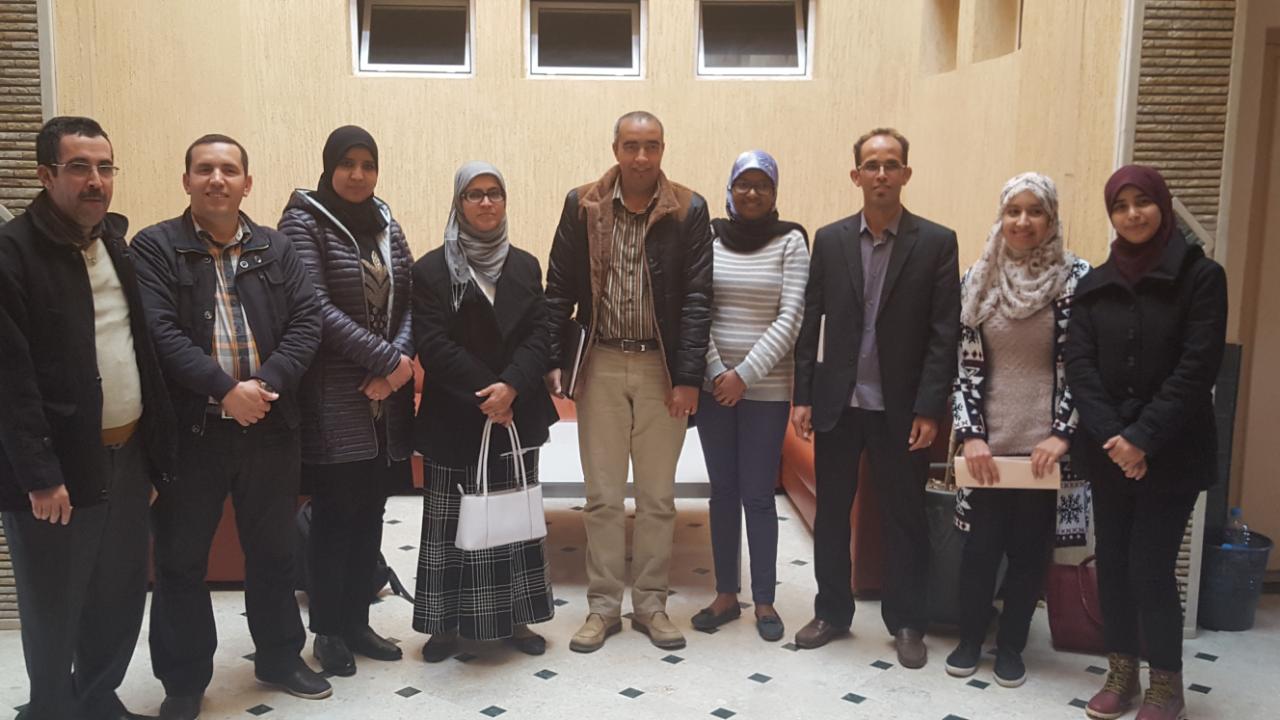 محمد ادالمودن رئيسا لجمعية اساتذة اللغة الامازيغية بتيزنيت
