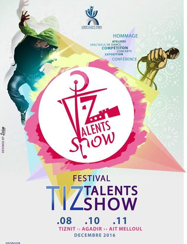 قافلة مهرجان Tiz Talents Show تجوب تيزنيت و اكادير