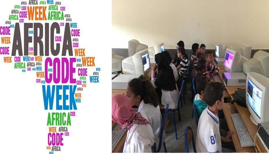 تقرير حول مبادرة أسبوع البرمجة بإفريقيا 2016« Africa Code Week » بالثانوية التأهيلية الحسن الثاني – تيزنيت