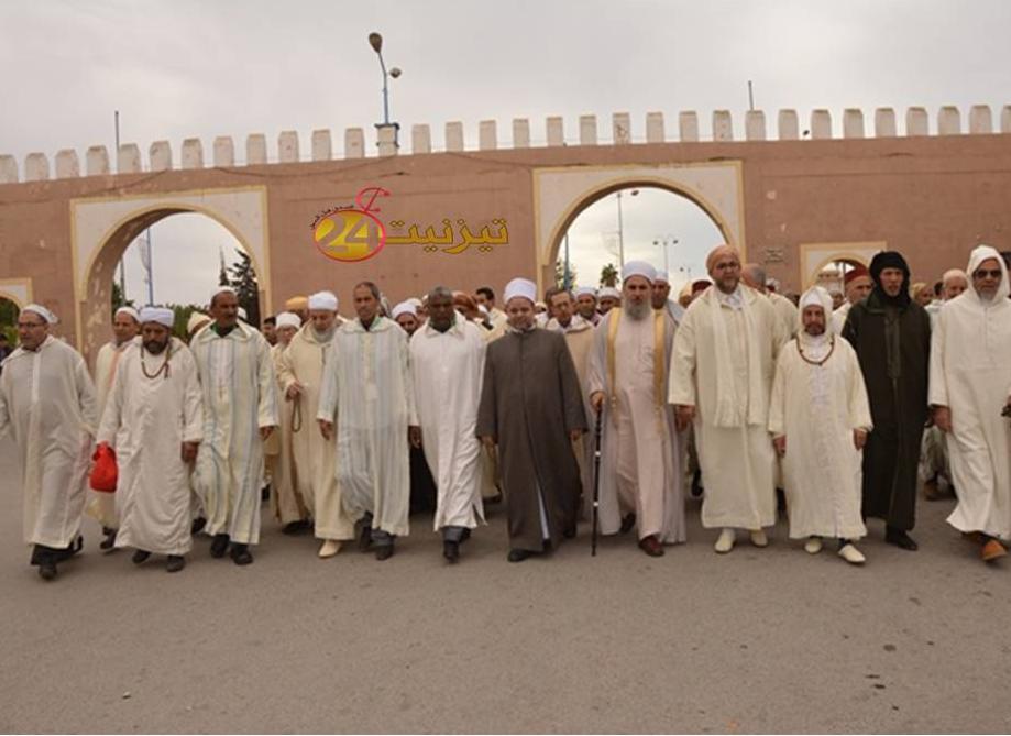 بالصور الملتقى الدولي الثالث للفكر الصوفي عند الشيخ ماء العينين بتيزنيت