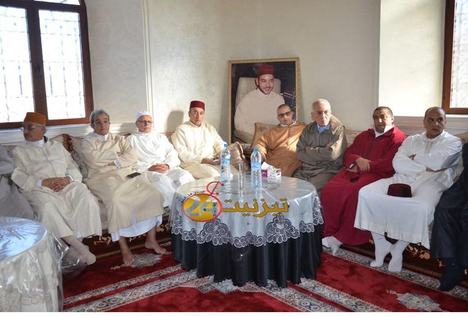 عامل اقليم يتراس حفل احياء ليلة المولد النبوي بتافراوت المولد