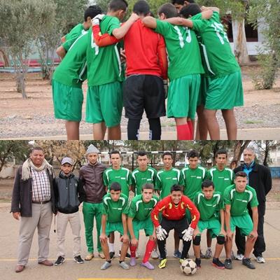 بالصور فريق دار الطالب أكادير يستعد لتمثيل مدينته بعد انتصاره على التامري