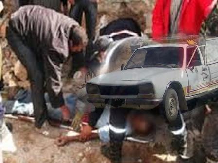 وفاة شخص متأثرا بجروحة بعد سقوطه من سيارة بيكوب بتيوغزة