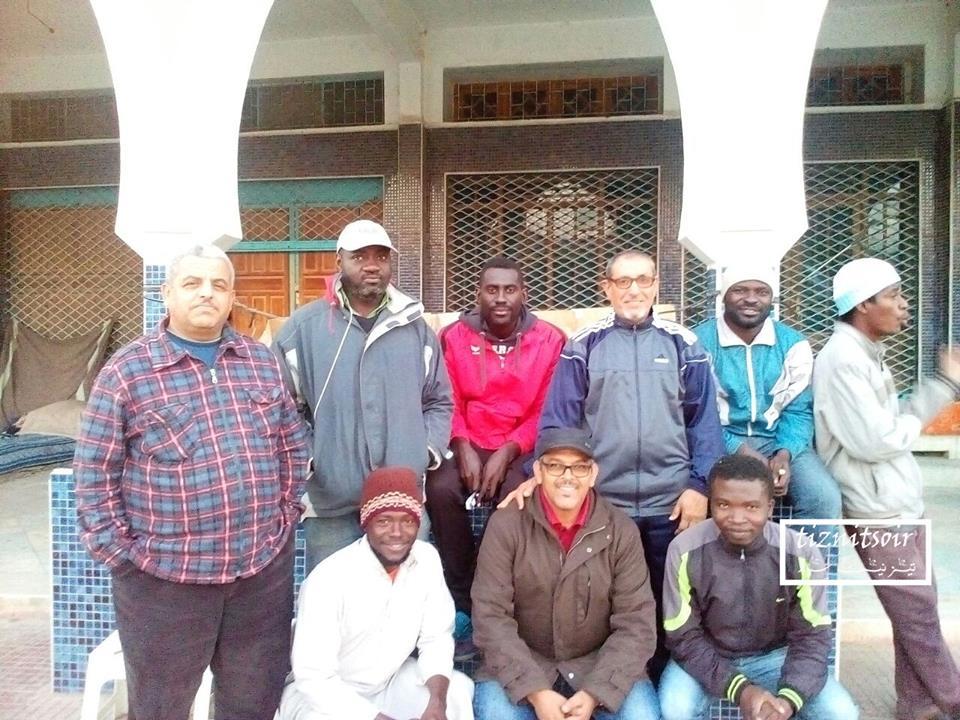 لقاء مع المهاجرين جنوب الصحراء المقيمين بمدينة تيزنيت