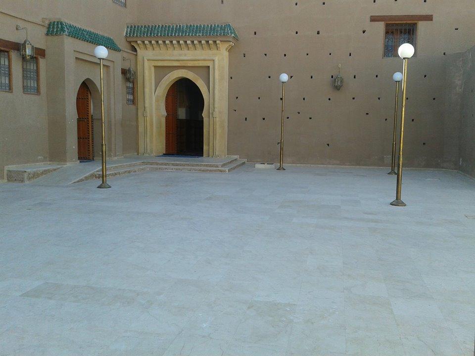 اصلاح عيوب مرصودة بالمسجد الكبير بتزنيت
