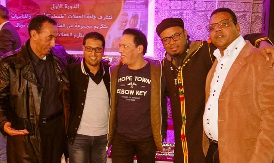 """تكريم الفنان """" ابو علي """"  في حفل فني باكادير"""