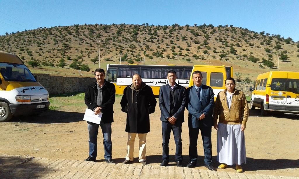 النقل المدرسي بتيزنيت يتعزز بأسطول من 4 حافلات بدائرة أنزي