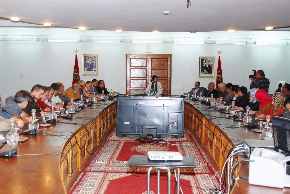 إجتماع لتوضيح إشاعة إلغاء مجانية التعليم بمقر ولاية جهة سوس ماسة
