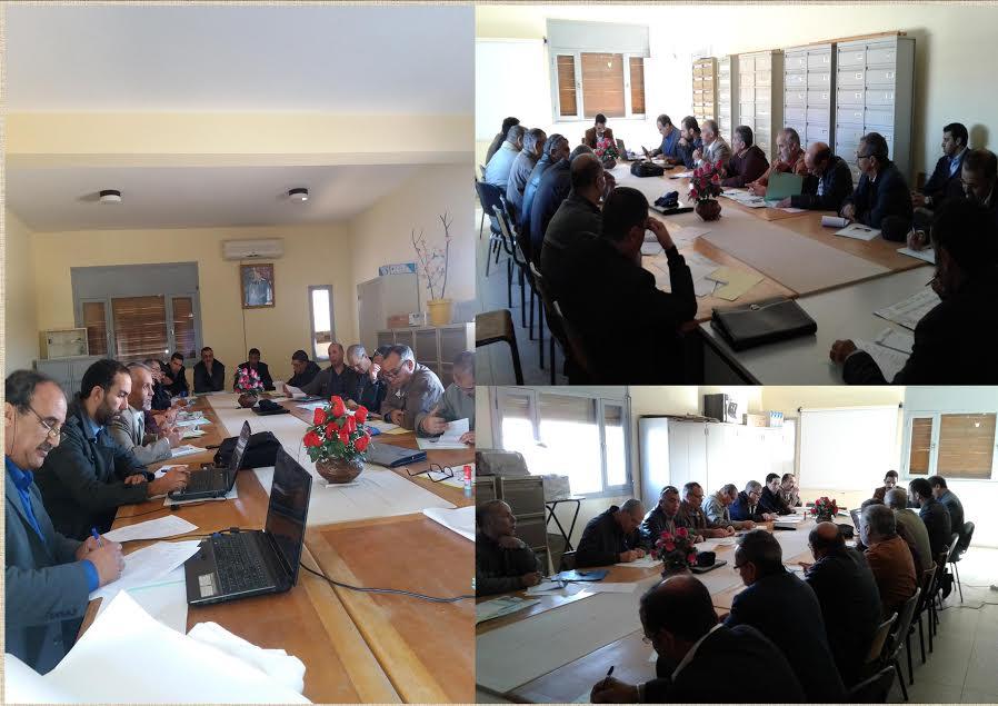 انعقاد اللقاء الاقليمي لتتبع وتقويم مشاريع المؤسسات التعليمية بالمديرية الاقليمية بتيزنيت