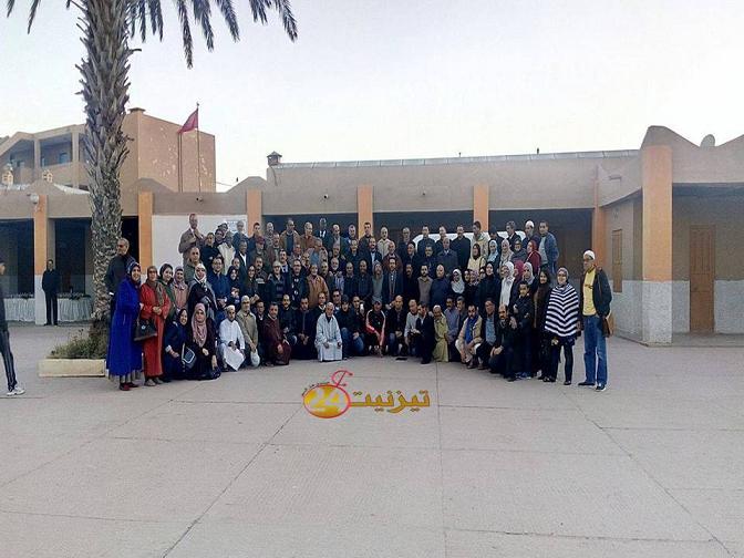 فيديو : بعد 40 سنة تلاميذ و تلميذات و اطر بثانوية مولاي رشيد يصلون الرحم