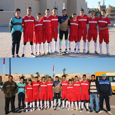 فريق دار الطالب أكلو يعود بانتصار من قلب مدينة تارودانت