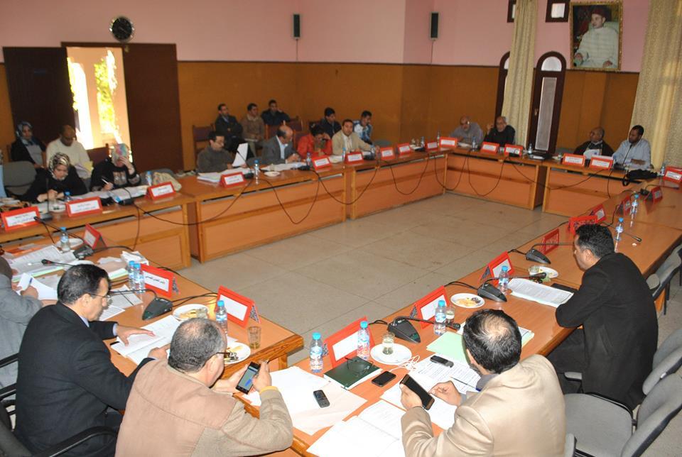 مجلس جماعة تيزنيت يبرمج 10 نقط للدورة العادية لشهر فبراير 2017