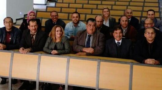 مكتب مجلس جهة سوس يعقد اجتماعه بالقطب الجامعي ايت ملول