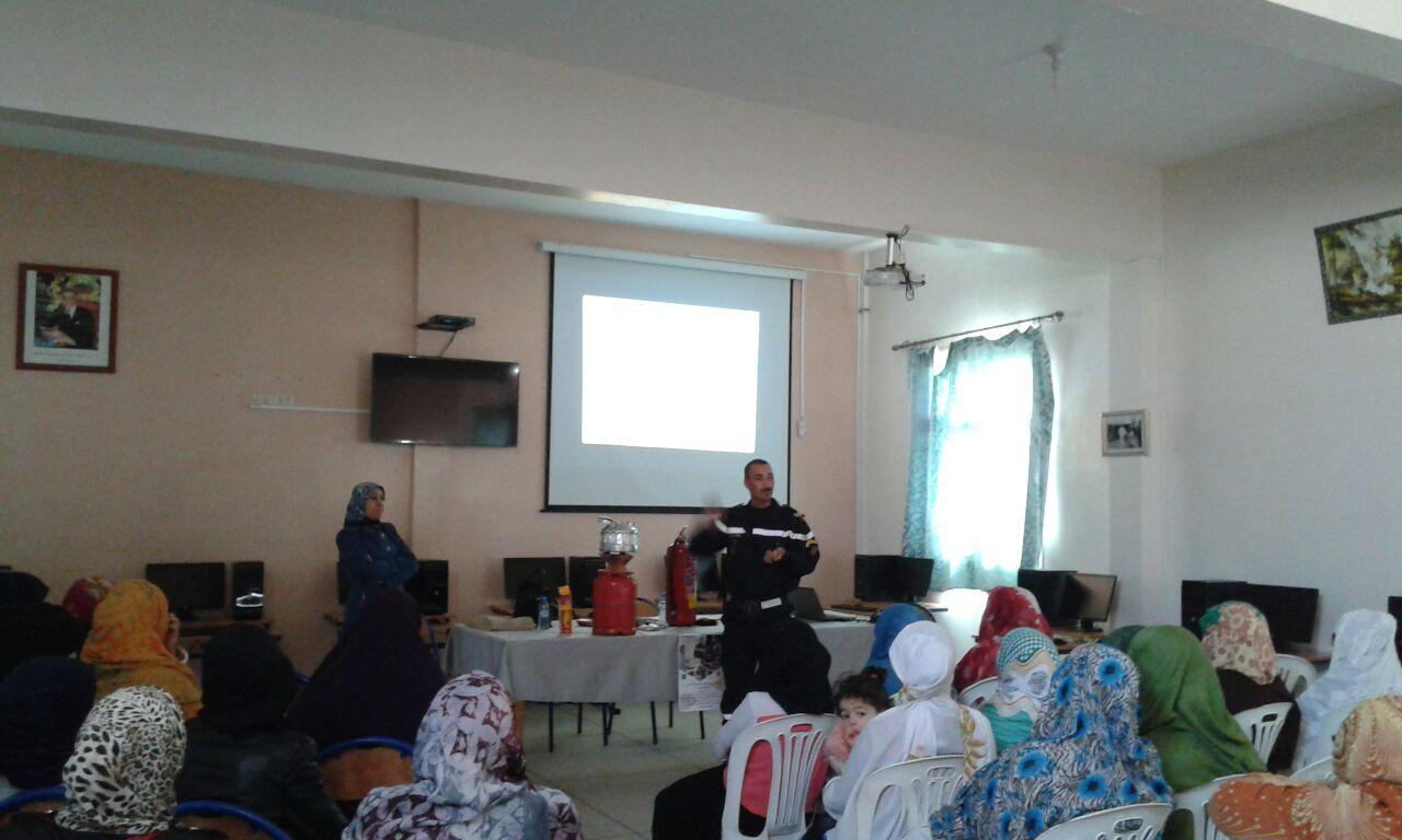 نشاط للتوعية بمخاطر الحوادث المنزلية بحي الدوتركا