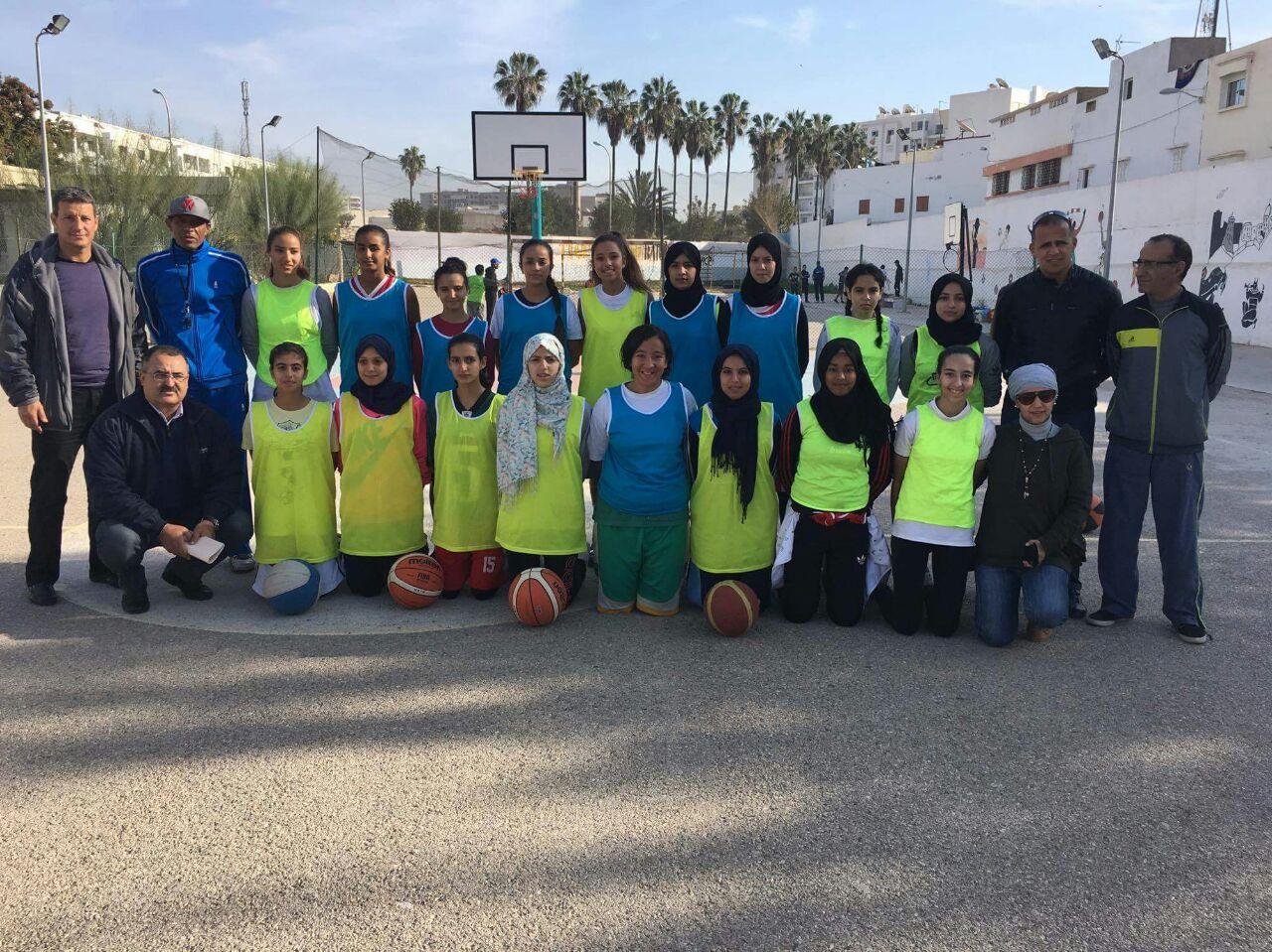 فتيات ترجي تيزنيت لكرة السلة ضمن تربص انتقائي لتكوين منتخب عصبة سوس