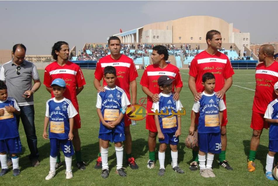 المنتخب المغربي بتيزنيت