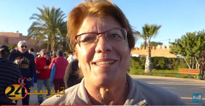 بالفيديو : سياح تيزنيت يقدمون تهانئ السنة الجديدة