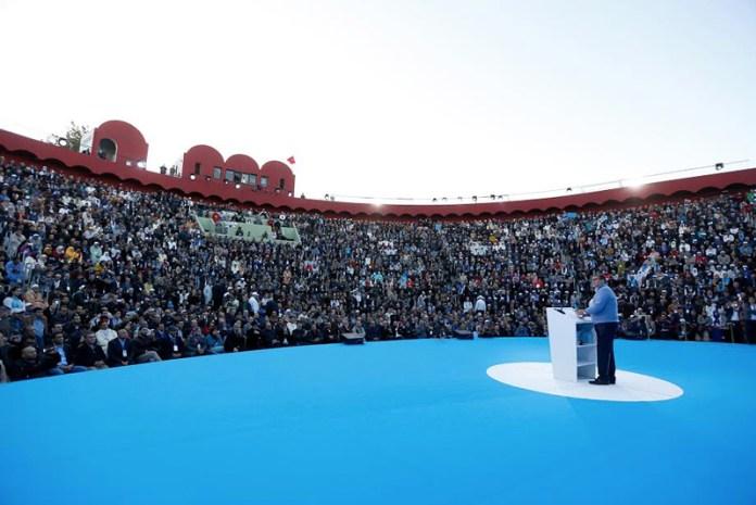 أخنوش من أكادير: التجمع سيتصدى لمحترفي خطاب الابتذال والتضليل والخبث