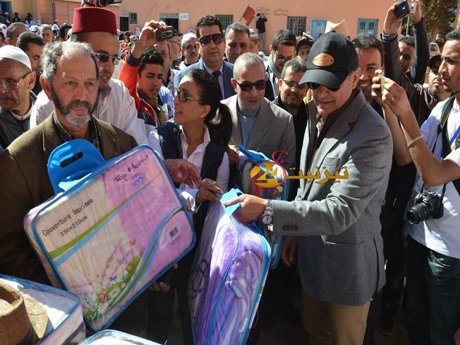 عامل اقليم تيزنيت يشرف على انشطة بجماعة ايت احمد دائرة انزي