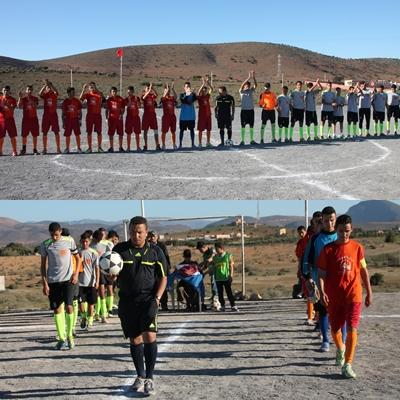 """بالصور : اختتام فعاليات النسخة الأولى لدوري المرحوم الحاج""""إبراهيــم هردمـان"""" لكرة القدم بوجان"""