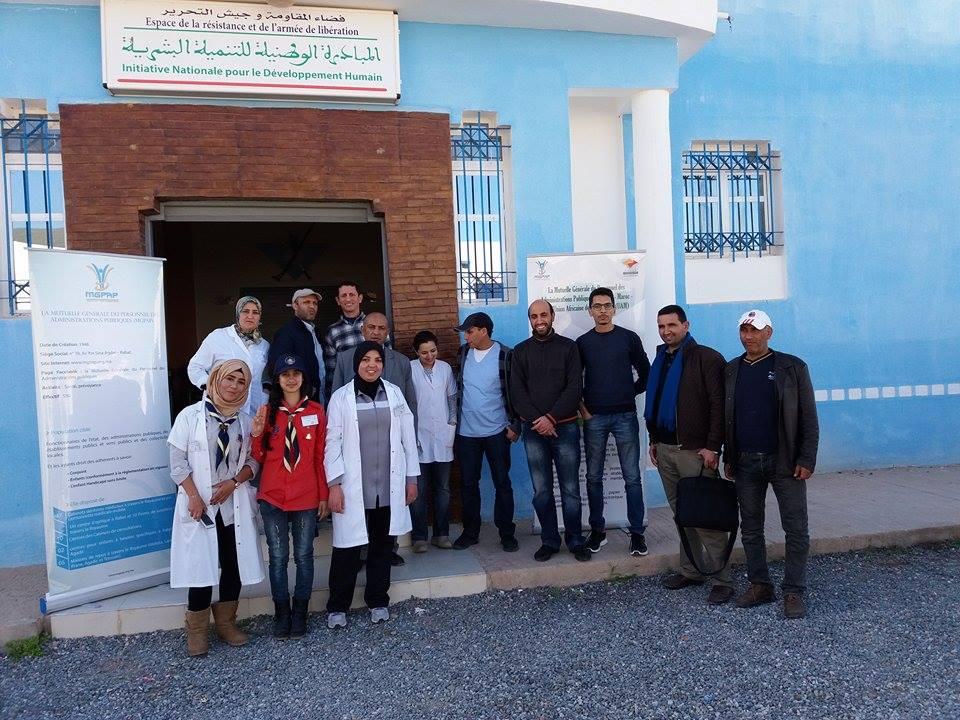 361 مستفيد بتيزنيت و سيدي افني من الحملة الطبية للتعاضدية العامة لموظفي الادارات العمومية