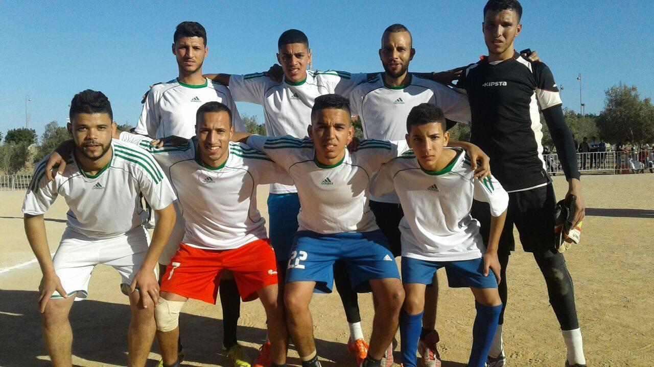 شباب المعدر يتوج بدوري ادكفا لكرة القدم