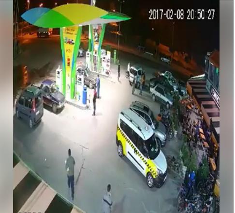 فيديو :محاولة سرقة هاتف ذكي باحدى محطات التزويد بالوقود ببلفاع .