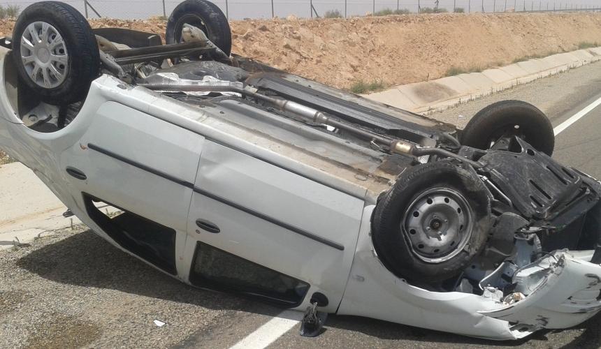 مصرع القابض الجماعي لمدينة تافراوت في حادثة سير بين تافراوت و اشتوكة ايت بها