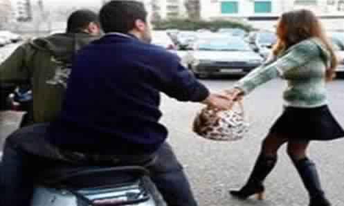 لص يسرق حقيبة فتاة بحي ودادية الموظفين ويلوذ بالفرار