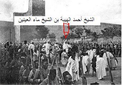 """"""" احمد الهيبة بن الشيخ ماء العينين """" موضوع ندوة علمية بتيزنيت + برنامج الندوة"""