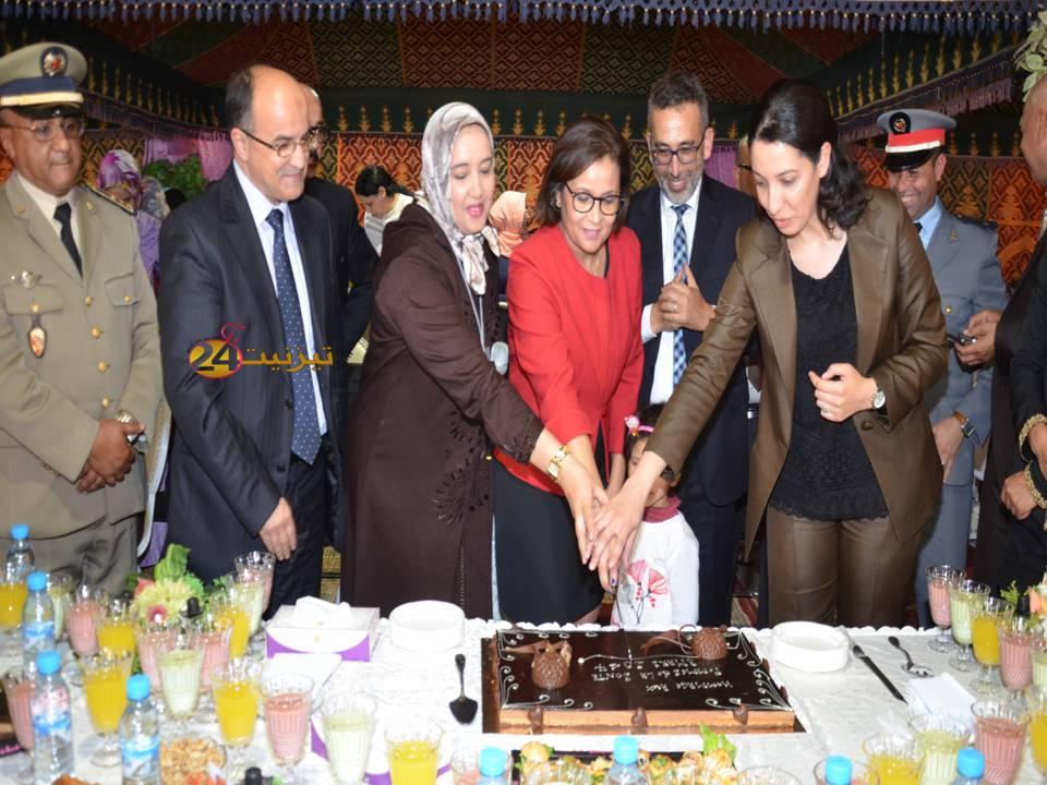 تكريم نساء قطاع الصحة بتيزنيت بمناسبة 8 مارس