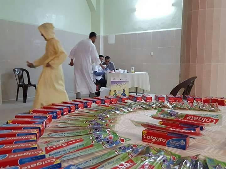 جمعية أطباء الأسنان تيزنيت و جمعية باني تنظمان حملة طبية لفائدة طلبة المدارس العتيقة بالإقليم