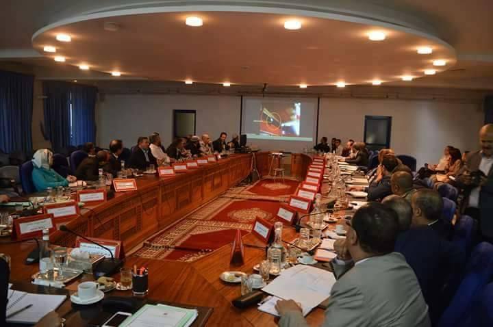 اجتماع ممثلي مكاتب جمعيات ونقابات التجار بولاية جهة سوس ماسة