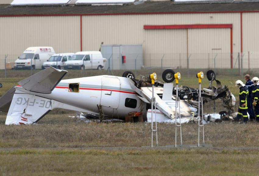 تحطم طائرة خاصة بمطار كلميم