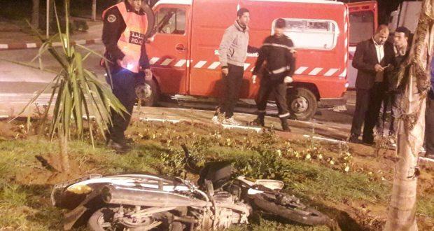 اشتوكة أيت باها: سائق دراجة نارية مخمور يقتحم السد الأمني بيوكرى