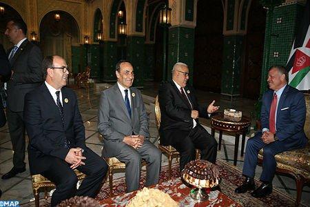 العاهل الأردني يستقبل ابن كيران بمقر إقامته بالرباط