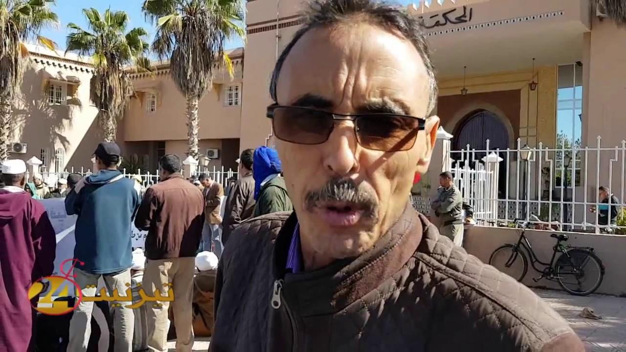 احمد الطالبي : ضحايا مافيا العقار جاءوا ليجددوا احتجاجهم على الظلم