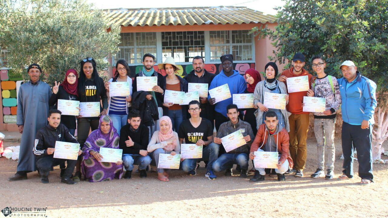 تقرير عن النشاط المنظم بمجموعة مدارس محمد بن الحسين بالمديرية الإقليمية سيدي  افني